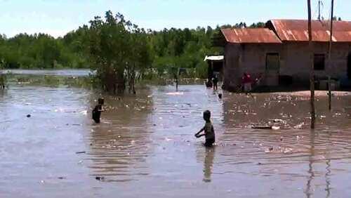 Banjir Rob Kembali Genangi Pemukiman Warga Manubara – Sumba Timur