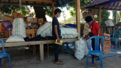 Bencana Alam di Kabupaten Sumba Timur  : Posko GKS Salurkan 33 Ton Beras, Ini Datanya