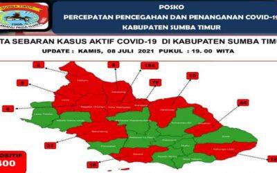 Di Sumba Timur Dalam 48 Jam Terjadi Penambahan 125 Kasus Positif Covid-19